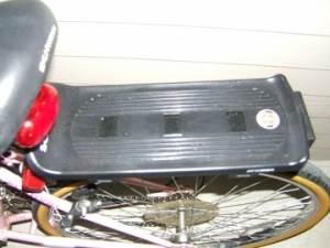 Schwinn rear rack, Target $10