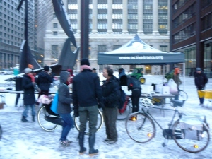 Chicago's Winter Bike to Work Day