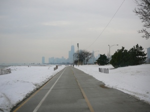 Lakefront Trail Plowed