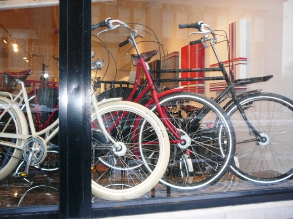 Dutch Bike Shop Window