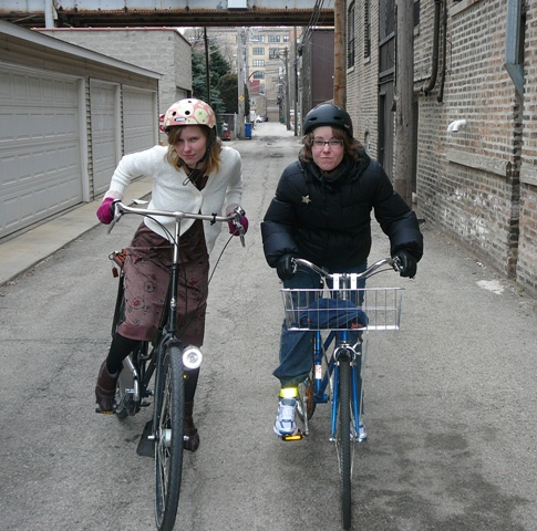 Grrrrr - like the roller derby, but with bikes, we are
