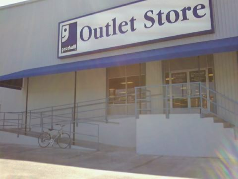 We have a Goodwill Outlet!