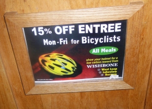 Bicyclist Discount