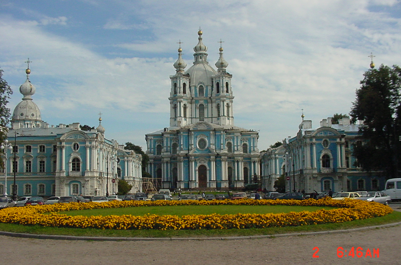 Smolny Cathedral follows us on Twitter