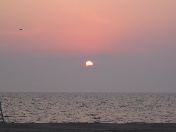 Another beautiful sunrise over Lake Michigan