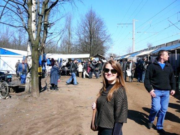 Udelynaya market -- the good part.