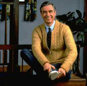 (I cried like a baby the day Mister Rogers died)