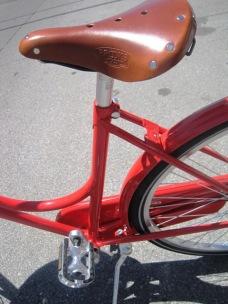 Brooks saddle.