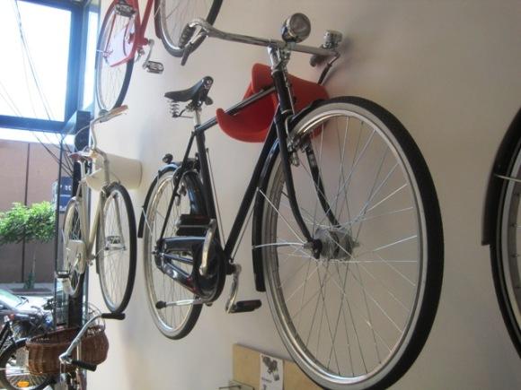 Abici Amante, cycloc rack.