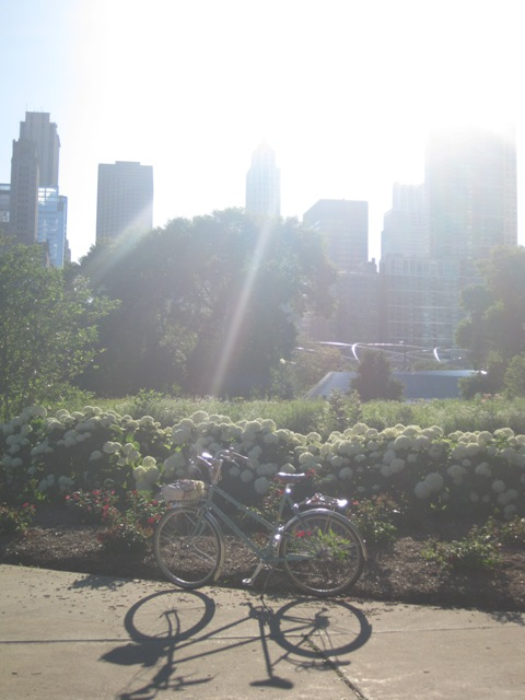 Glorious Betty in Grant Park