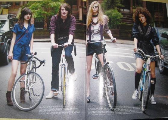 Bust-y Bike Fashion
