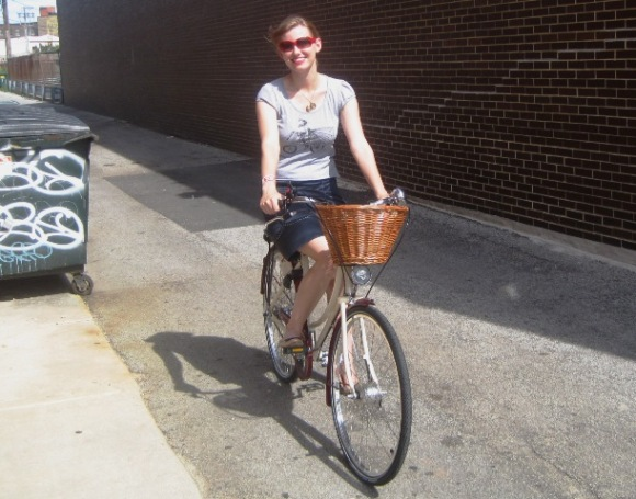 Test riding the Pashley Sonnet Bliss