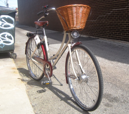 Pashley Sonnet Bliss, Chicago Alleyway