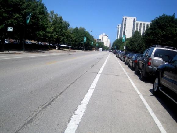 Bike Lane on Wells