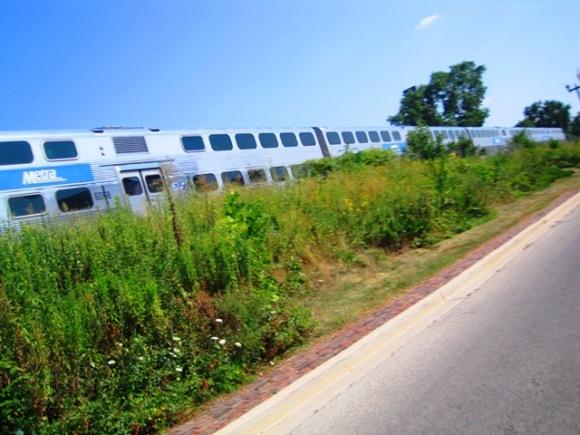 Metra Suburban Train