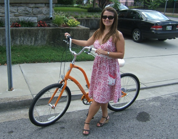 Trisha and the Electra Townie