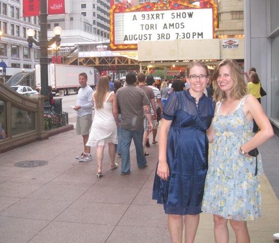 Melissa and me at the Chicago Theatre to see Tori