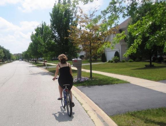 Big suburban streets