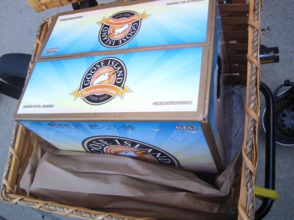 Oma loves Goose Island Summertime beer