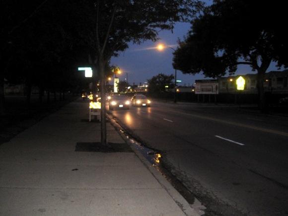 Sidewalk Riding