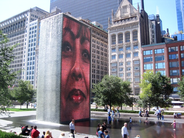 The Face Fountain