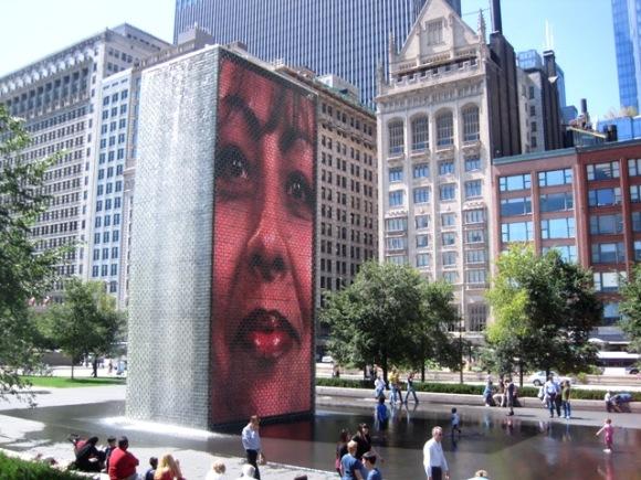The Face Fountain