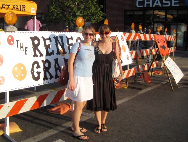 Melissa and Me at the Renegade Craft Fair