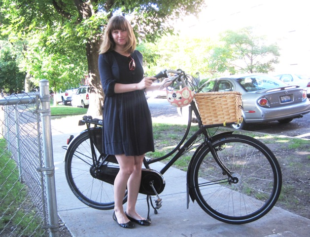 """This is what a bike commuter looks like"""
