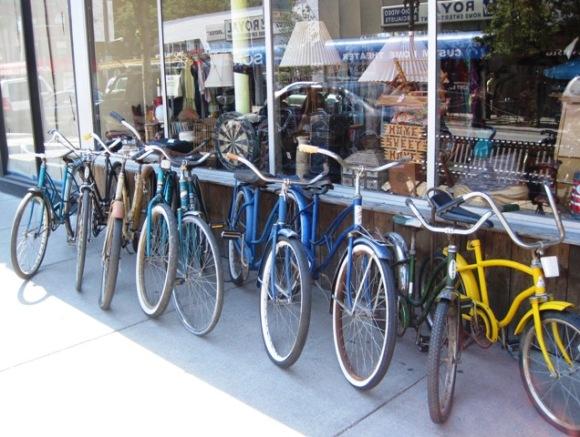 Vintage Bikes at Haystack