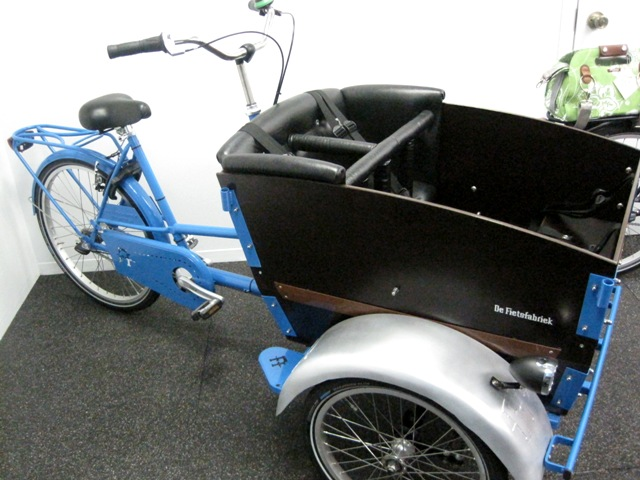 Ultimate child cargo bike