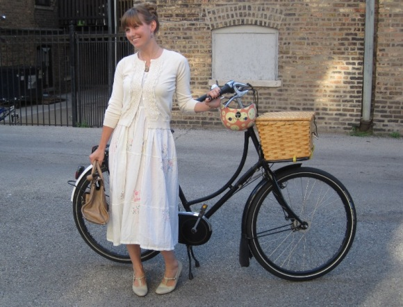 9-4 vintage dress