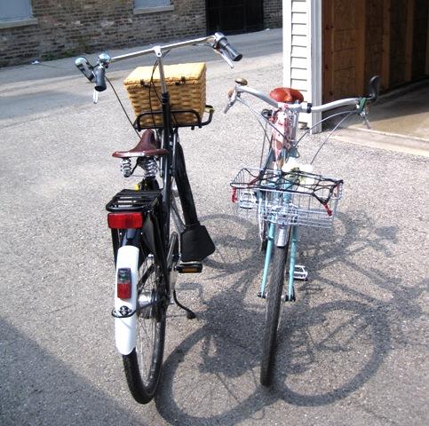Very different bikes