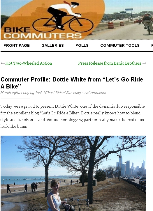bike commuters dot