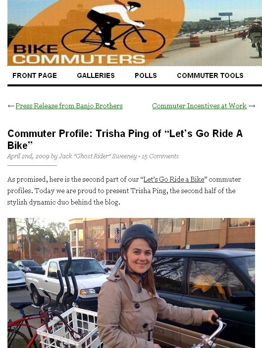 bike commuters trisha