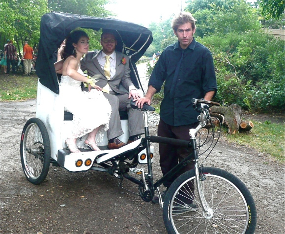 Wedding Pedicab