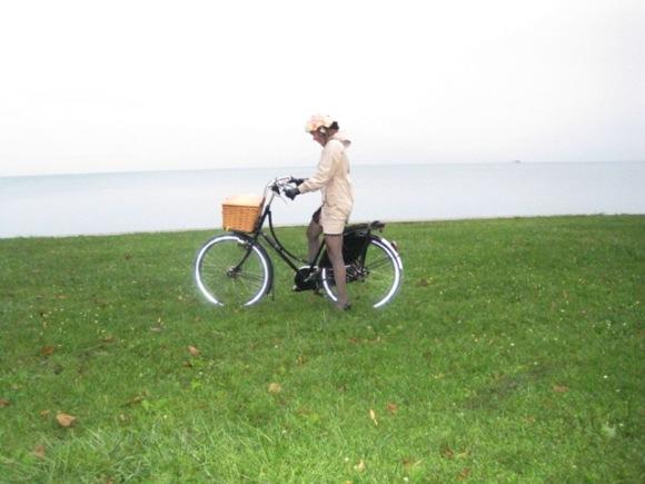Me, Oma and Lake Michigan