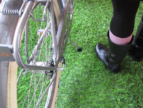 Velorbis and Elisa at Copenhagen Cyclery