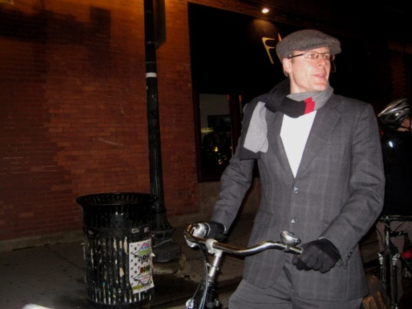 Scott and his WorkCycles Oma