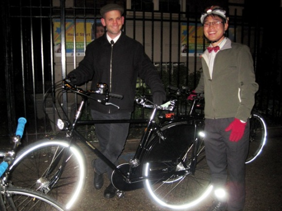 John and Payton and a Pashley