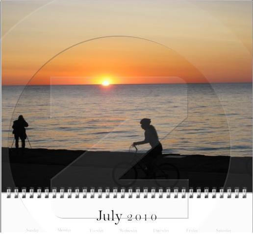 Image from Chicago Bike Calendar