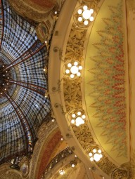 ceiling at galeries lafayette