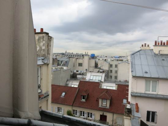 paris rooftop view